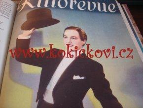 KINOREVUE 1. POLOLETÍ 5.ROČNÍK 1938-39 - 26 ČÍSEL LUXUSNÍ STAV MICKEY MOUSE MANDLOVÁ