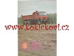 TATRA 815 S3 26 208 6X6.2 - PROSPEKT - SKLÁPĚČKOVÝ TŘÍNÁPRAVOVÝ AUTOMOBIL