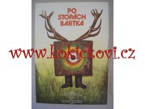 PO STOPÁCH BARTKA - POLSKÝ FILMOVÝ PLAKÁT - JAN TOMÁNEK 1978