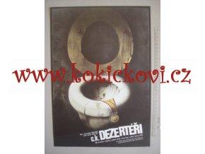 C.K. DEZERTÉŘI - POLSKÝ FILMOVÝ PLAKÁT - ZDENĚK VLACH 1988