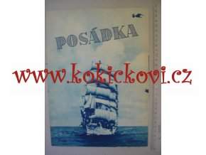 Posádka 1952 - POLSKÝ FILMOVÝ PLAKÁT - PO ROZLOŽENÍ FORMÁT A3