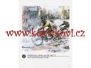 Škoda - Z historie sportovních a závodních automobilů - 1978 - Vladimír Bidlo - škoda - tatra - laurin klement - motocykl