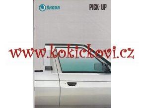Škoda Pick-up - prospekt 199? - A4 - 20 STRAN - VZORNÍK BAREV