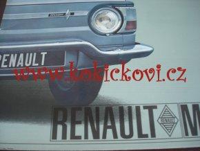 Renault Major - 1965 - prospekt