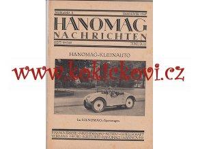 HANOMAG KLEINAUTO - Hanomag Nachrichten JUNI/JULI 1927 HEFT 164/165 -