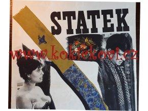 STATEK 1965 - JEAN PAUL BELMONDO FILMOVÝ PLAKÁT A3 CLAUDIA CARDINALE