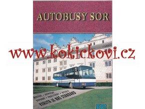 AUTOBUS SOR 7,5 A 9,5 - REKLAMNÍ PROSPEKT A4 - 8 STRAN