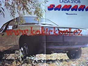 VAZ - Lada 2108 Samara - Mototechna - 1987 - prospekt