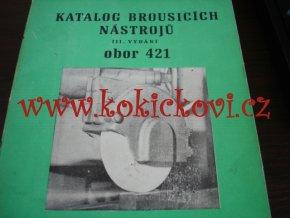 KATALOG BROUSÍCÍCH NÁSTROJŮ 1982 - TOVÁRNY STROJÍRENSKÉ TECHNIKY