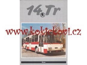 TROLEJBUS ŠKODA 14 Tr - reklamní prospekt A4 - 8 str.