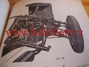 PODVOZEK AUTOMOBILU KOZÁK 1947 STRAN 102 PRAGA JAWA