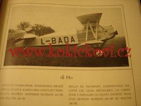 LETOV ČS. TOVÁRNA NA LETADLA - REKLAMNÍ KATALOG - VÝZVĚDNÁ POZOROVACÍ STÍHACÍ ZÁVODNÍ DOPRAVNÍ ŠKOLNÍ LETADLA 1927