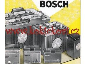 BATERIE BOSCH - REKLAMNÍ BROŽURA A5 - 30 STRAN - A5 NĚMECKY