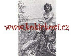 MOTOR REVUE 4/1972 ŠKODA BUGGY 72 - MOTOCYKL ČZ 125/175 NĚMECKY