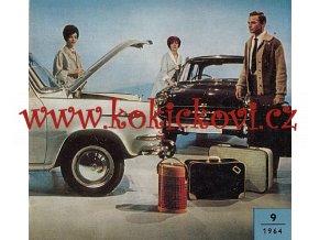 MOTOR REVUE 9/1964 -ŠKODA 1000 MB - LAURIN KLEMENT- RUSKY