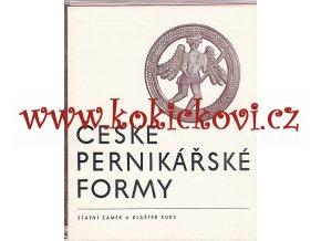 České pernikářské formy
