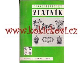 ČESKOSLOVENSKÝ ZLATNÍK - 3. ROČNÍK 100% KOMPLET 1948 - 12 ČÍSEL - ZLATNICTVÍ - ŠPERKAŘSTVÍ - KLENOTNICTVÍ