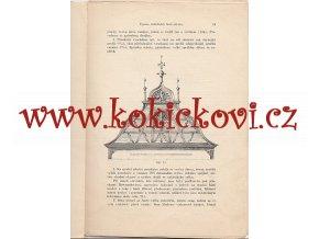 Námětkování a úprava viditelných částí střechy - pro potřebu tesařských polírů a dílovedoucích 1912 - studie 20 stran