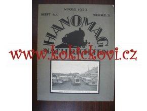 HANOMAG NACHRICHTEN 1923 MARZ HEFT 113