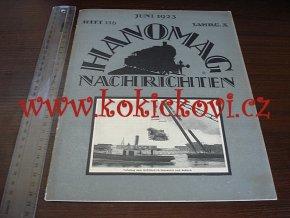 HANOMAG NACHRICHTEN JUNI 1923 HEFT 116
