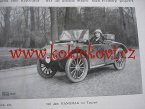 HANOMAG KLEIN AUTO - HANOMAG NACHRICHTEN AUGUST SEPTEMBER 1926 HEFT 154-155  2/10 PS