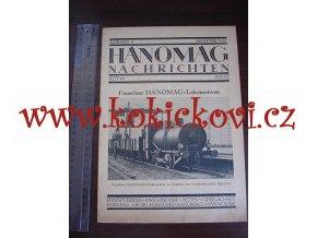 HANOMAG NACHRICHTEN AUGUST 1927 HEFT 166