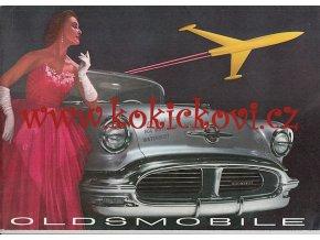 REKLAMNÍ PROSPEKT OLDSMOBILE 1956 -  12 STRAN - TEXT ANGLICKY - CAR BROCHURE POSTER