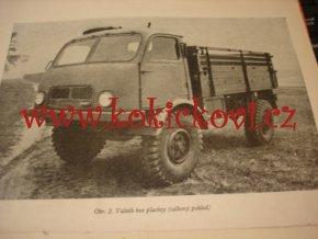 Tatra 805 - popis, obsluha, ošetřování a běžné opravy - 1954 - 2 svazky