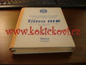 Tatra 111 R - seznam náhradních součástí - 1960 -těžký nákladní automobil