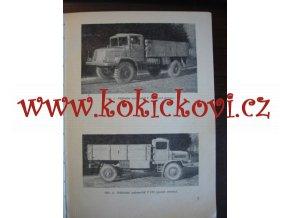 Tatra 128 - nákladní automobil - ústrojí obsluha a ošetřování Koppřivnice 1955