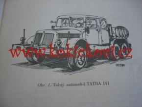 PŘÍRUČKA PRO ŘIDIČE TAŽNÉHO AUTOMOBILU TATRA 141 - DODATEK 1959