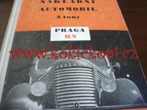 Nákladní automobil 3 tuny Praga RN - SNTL 1954 - Jan Lanc