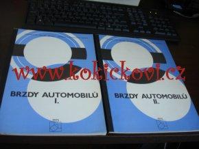 BRZDY AUTOMOBILŮ - SVAZKY - A4 - 1975 TANKOVÁ A AUTOMOBILNÍ SPRÁVA MNO