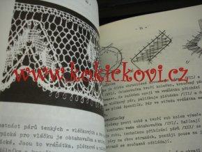 RUČNĚ PALIČKOVANÁ KRAJKA - IVA PROŠKOVÁ - 1981 - MINI NÁKLAD