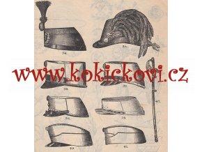 Speciální C. K. ceník uniforem výzbroje a výstroje pošty telegrafních úřady lesnictví hornictví zbraně