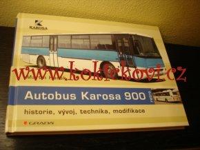 AUTOBUS KAROSA 900 - MONOGRAFIE - HISTORIE VÝVOJ TECHNIKA SPORT