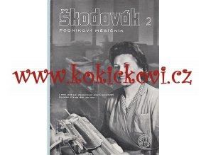 Časopis Škodovák - raritní podnikový měsíčník 1948 - čísla 1-12 - ŠKODA PLZEŇ