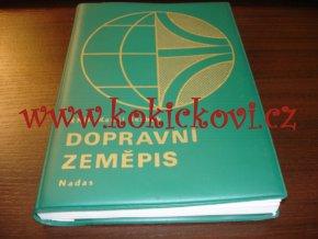 DOPRAVNÍ ZEMĚPIS - ŽELEZNICE SILNICE LANOVKY A SOC. BLOK NADAS 1984