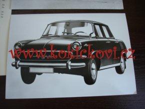 Malý autosalón MVB - 1967 - fotografie