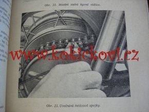 JAWA-ČZ 250/353/03, 350/354/03 - technický popis, návod