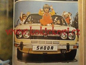 ČASOPIS MOTOR 1982 - KOMPLETNÍ SVÁZANÝ ČASOPIS - 12 ČÍSEL VČETNĚ OBÁLEK