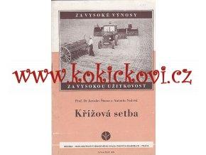 Šimon, Jaroslav: Křížová setba, 1951