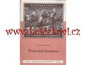 Zeman, František: Pěstování brambor, 1953