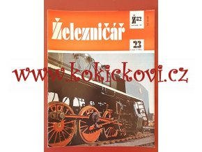 ČASOPIS ŽELEZNIČÁŘ Č.23 / 1982 - JEDNO SAMOSTATNÉ ČÍSLO VIZ FOTO