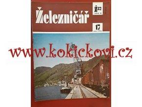 ČASOPIS ŽELEZNIČÁŘ Č.17 / 1982 - JEDNO SAMOSTATNÉ ČÍSLO VIZ FOTO