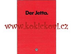 Volkswagen - Der Jetta 1981 - prospekt