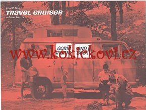 Travel cruiser - prospekt - CHEVROLET - CORVAIR - CHEVY - 196?
