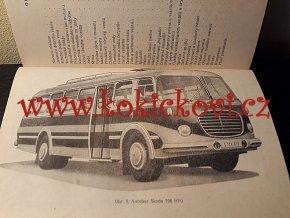 Škoda 706 RT, RTS, RTO - návod k obsluze - 1958 - česky