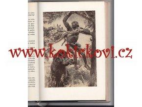 LOVCI JESKYNNÍCH MEDVĚDŮ - ilustrace ZDENĚK BURIAN - VYDÁNÍ 1958