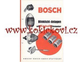 ROBERT BOSCH - BLINKLICHT - ANLAGEN - REKLAMNÍ BROŽURA A5
